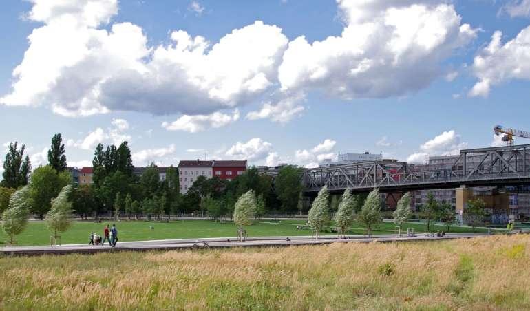 Der Park am Gleisdreieck