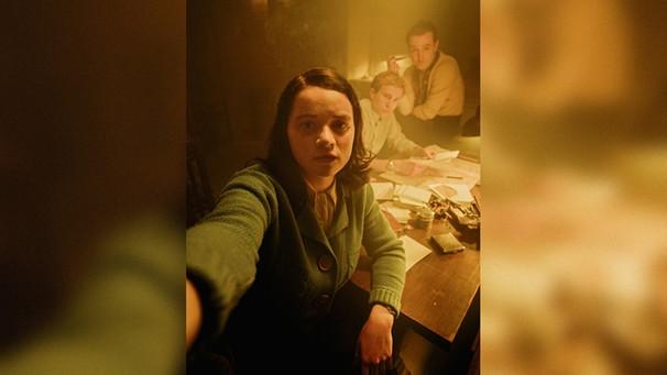 Screenshot einer Story mit Sophie Scholl